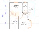 Планировка 1го этажа