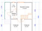 Планировка, 1й этаж