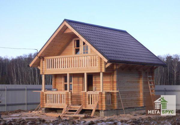Срок службы деревянного дома