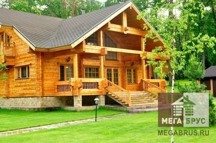 Стоит ли строить дачный дом из деревянного бруса?