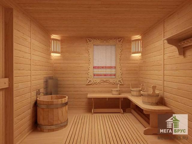 Дизайн в бане фото