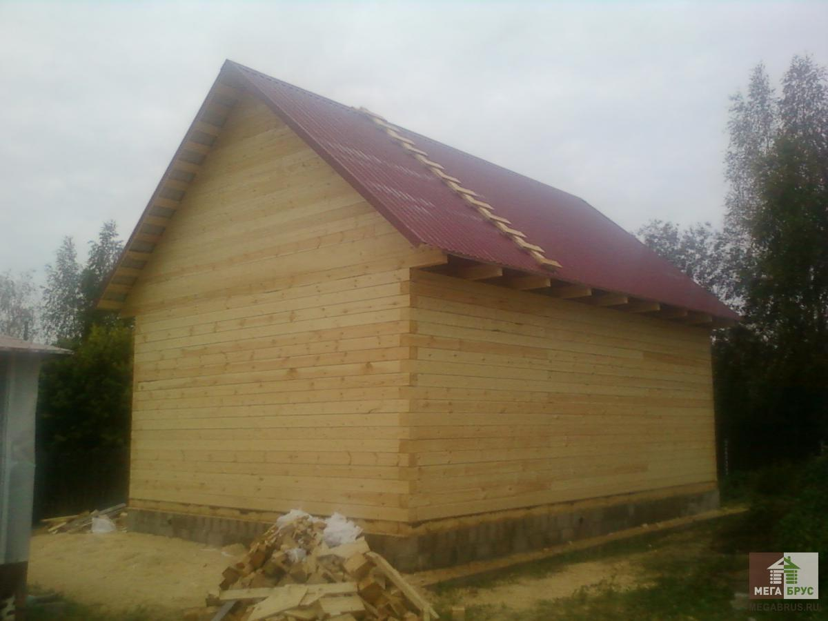 Дома из бруса в Дмитровском районе