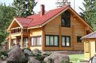 Готовый проект дачного дома